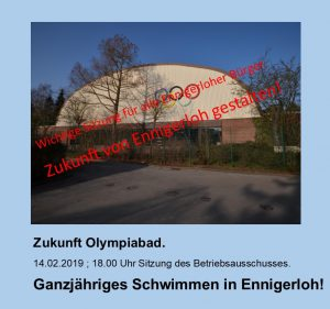 Zukunft Olympiabad Ennigerloh!