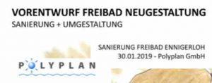Am 14.02.2019, um 18.00 Uhr- Betriebsausschuss wg. Naturbad!