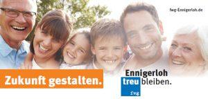 Besuch des Bürgermeisters Lülf am fwg-Gewerbeschau  Stand 2019 !