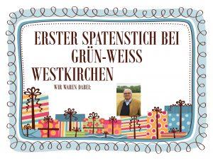 Erster Spatenstich bei Grün-Weiss Westkirchen