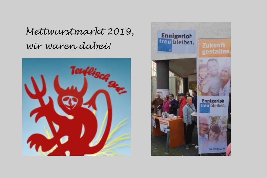 Mettwurstmarkt 2019 – Gelungenes Traditionsfest in Ennigerloh