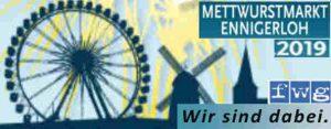 Mettwurstmarkt 2019- Wir sehen uns! fwg-Ennigerloh.