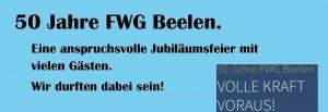 50 Jahre FWG Beelen - Wir gestalten Zukunft -