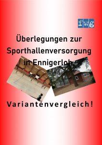 Sporthallen in Ennigerloh!