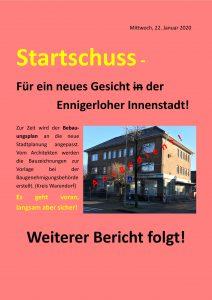 Das Gesicht der Ennigerloher Innenstadt ändert sich in Etappen!
