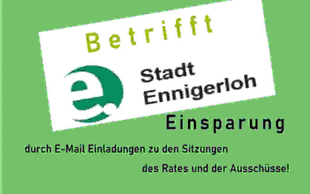 """Kosten sparen durch """"E-Mail Einladungen""""!"""