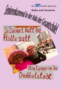 Senioren-Karneval in der Drubbelstadt datt hat watt!