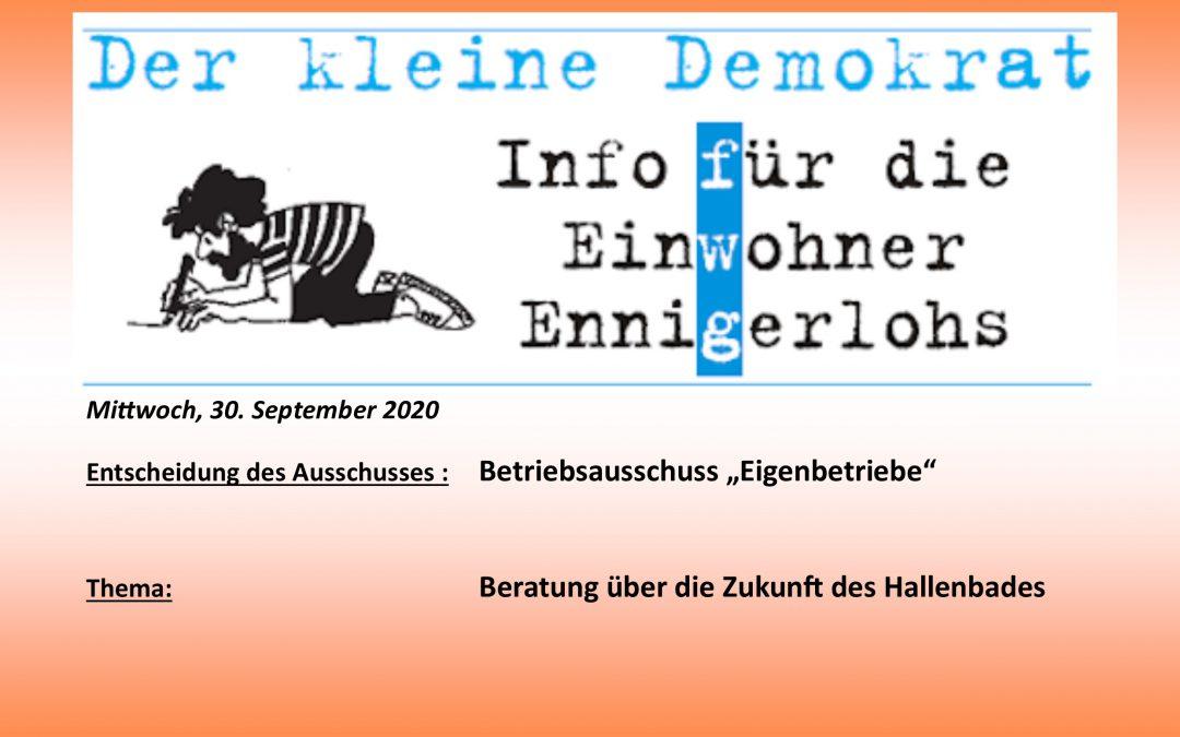 """Ganzjähriges """"Schwimmen"""" in Ennigerloh!"""