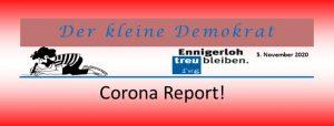 Corona Report 05.11.2020