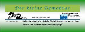Digitalisierung in der Schule und in der Verwaltung von Städten!