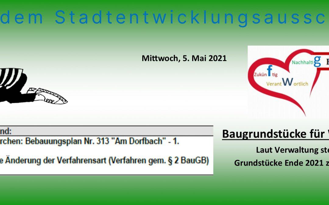 """Baugrundstücke in Westkirchen """"Am Dorfbach""""!"""
