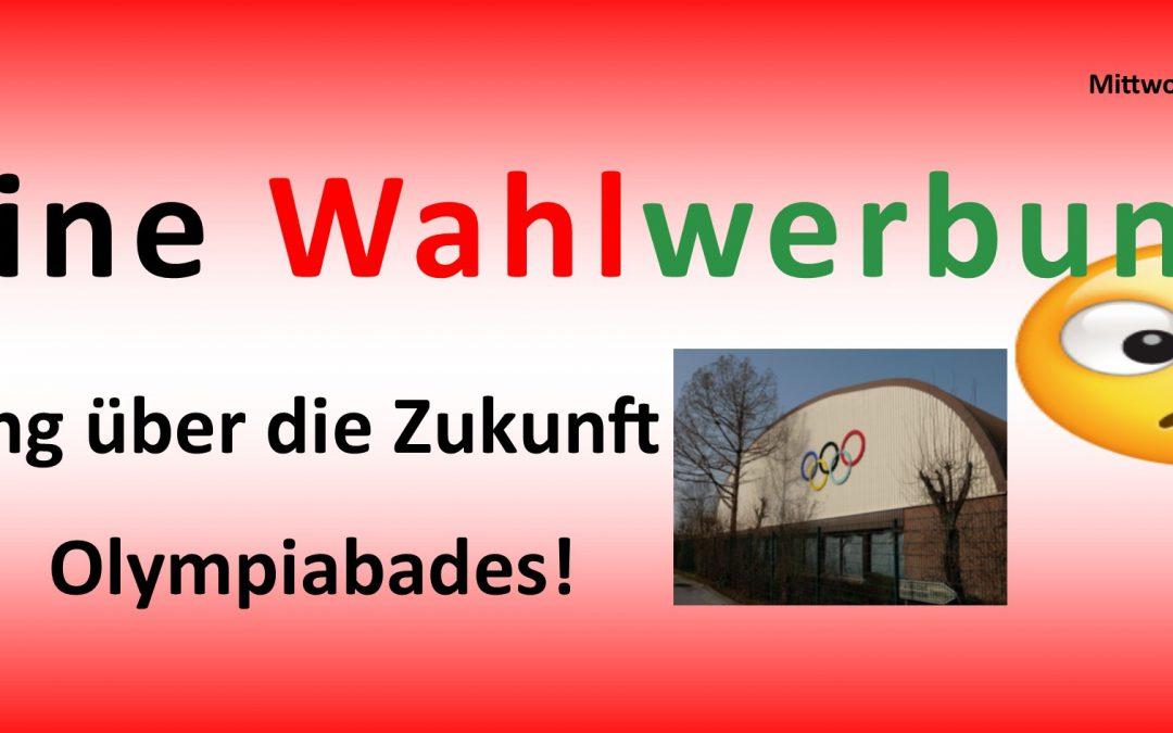 Betriebsausschuss – Zukunft Olympiabad –