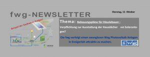 Schwung für Photovoltaik Anlagen in Ennigerloh!